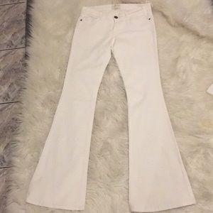 Current/Elliot white jeans